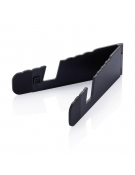 Foldable black tablet stand