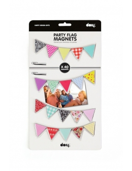 Magneter med flag - Party Flag Magnets