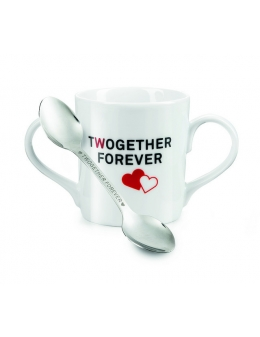 Cup and spoon - Twogether Forever