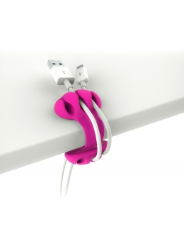 Cable Holder - Desk Cable Clip (Pink)