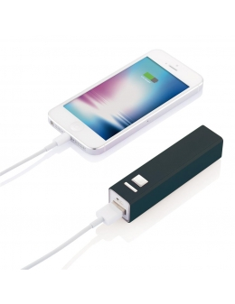 Power bank i sort