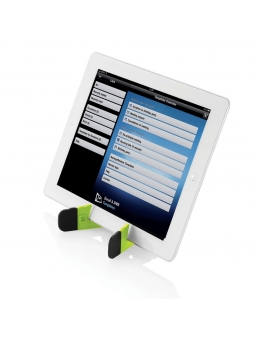 Tablet stand - Foldable stand (Lime)