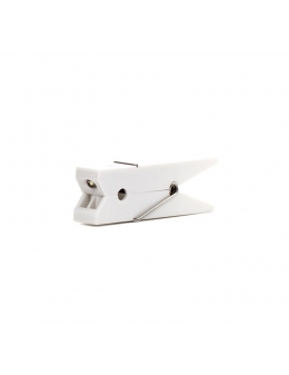 Book lamp - Clothespin Clip (White)
