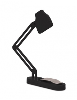 Boglys slim Book Lamp i sort fra Kikkerland