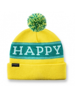 Hue - Donkey Beanie (Happy Yellow)
