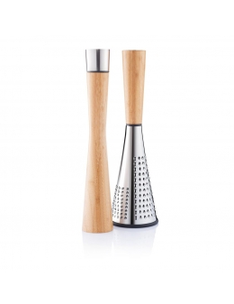 Pepper mill & cheese grater - Tower & Spire