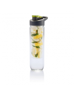 Vandflaske m. infuser - Water bottle (Grøn) - 800 ml (Default)