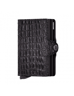 Secrid twin wallet - nile black - front