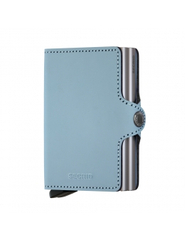 Secrid twin wallet matte blue front